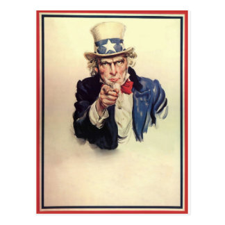 米国市民ポスター ポストカード