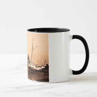 米国市民ルイPeshaのヴィンテージ五大湖の1つ マグカップ