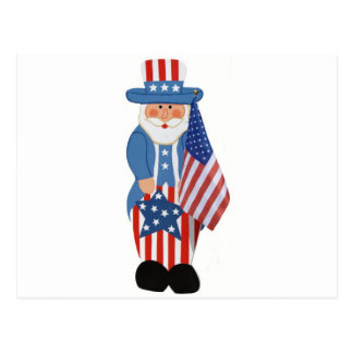 米国市民ロゴ ポストカード