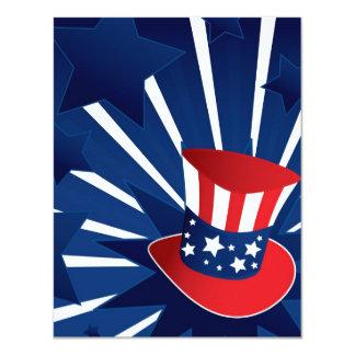 米国市民帽子 カード