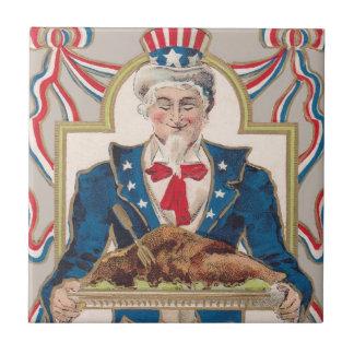 米国市民感謝祭トルコ タイル