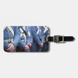 米国市民戦争時代の海兵隊員、軍隊 ラゲッジタグ