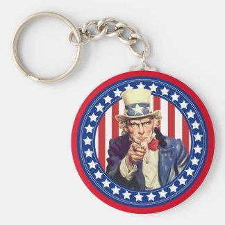 米国市民星条旗 キーホルダー