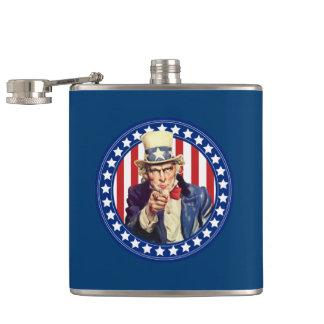 米国市民星条旗 フラスク