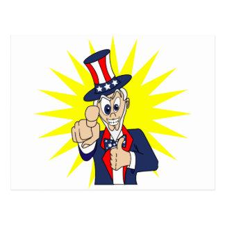 米国市民漫画 ポストカード
