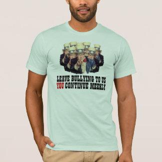 米国市民私はおもしろいな柔和なテンプレートをいじめてほしいです Tシャツ