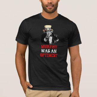 米国市民私はマーフィーの法律のおもしろいなテンプレートほしいと思います Tシャツ