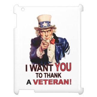 米国市民私は退役軍人のiPadの例を感謝していしてほしいです iPadケース