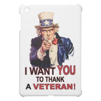 米国市民私は退役軍人iPad Miniを感謝していしてほしいです iPad Mini カバー