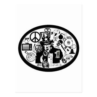 米国市民芸術 ポストカード