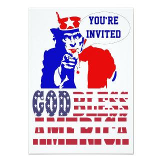 米国市民7月4日 カード