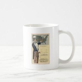 米国市民 コーヒーマグカップ