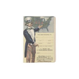 米国市民 パスポートカバー