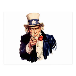 米国市民 ポストカード