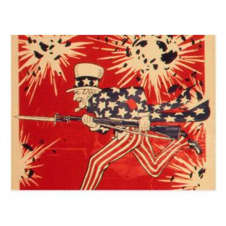 米国市民-ヴィンテージ ポストカード
