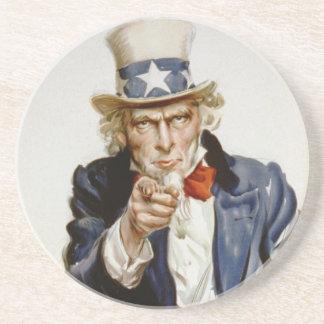 米国市民-私はほしいと思います コースター