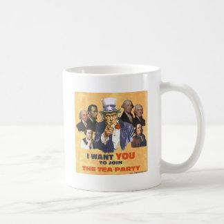 米国政府お茶会に加わります コーヒーマグカップ