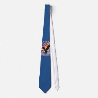 米国旗およびワシのタイ オリジナルタイ