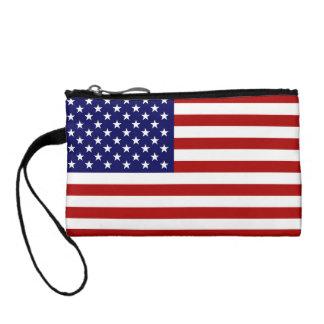 米国旗が付いている米国のバッグ コインパース