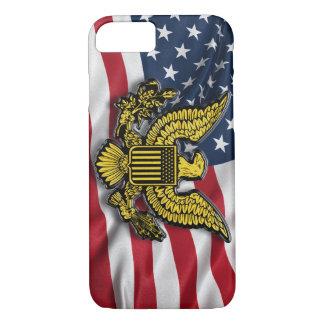 米国旗が付いている米国の素晴らしいシール iPhone 8/7ケース