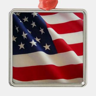 米国旗のオーナメント メタルオーナメント
