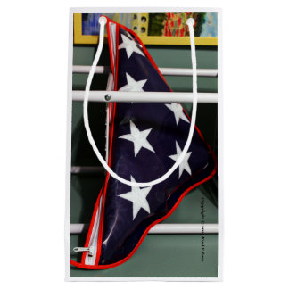 米国旗のギフトバッグ スモールペーパーバッグ