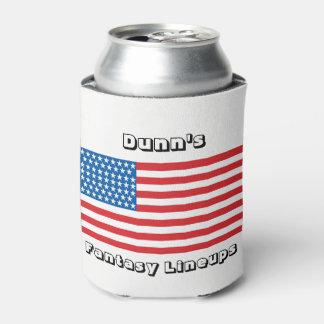 米国旗のクーラーボックス 缶クーラー