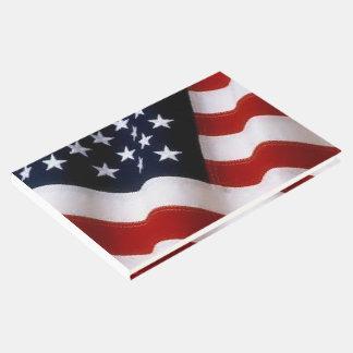 米国旗のゲストブック ゲストブック