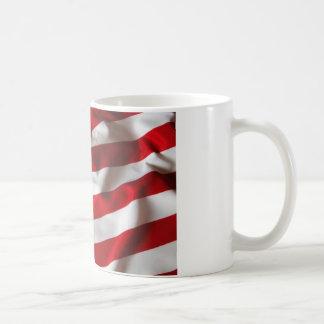 米国旗のコーヒー・マグの古い栄光 コーヒーマグカップ