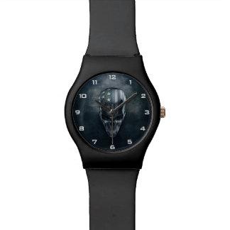 米国旗のスカルMay28thの腕時計 腕時計