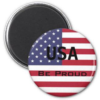 米国旗のテンプレート マグネット