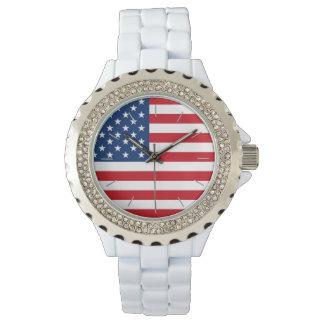 米国旗のニースの腕時計 腕時計
