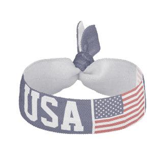米国旗のヘアタイ ヘアタイ