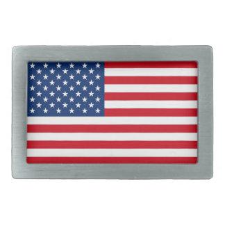 米国旗のベルトの留め金 長方形ベルトバックル