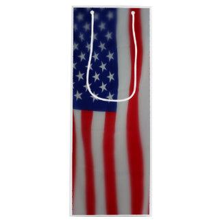 米国旗のワインのギフトバッグ ワインギフトバッグ