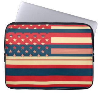米国旗のヴィンテージ2 ラップトップスリーブ