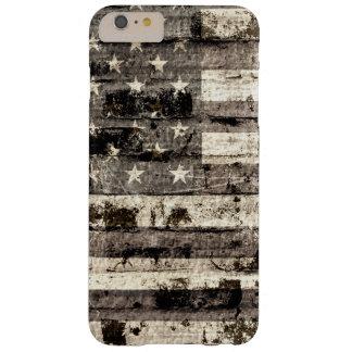 米国旗のヴィンテージ BARELY THERE iPhone 6 PLUS ケース