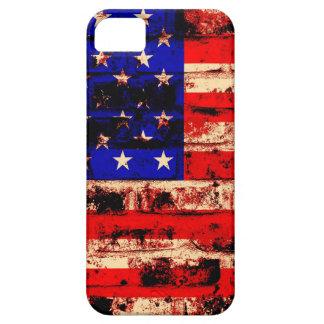 米国旗のヴィンテージ iPhone SE/5/5s ケース