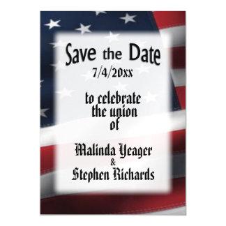 米国旗の保存日付 マグネットカード