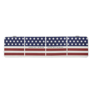 米国旗の大きい愛国心が強い7月4日の習慣 ビアポンテーブル