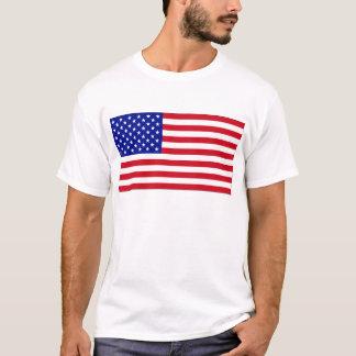 米国旗の愛国心が強いタンクトップ Tシャツ