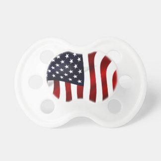 米国旗の愛国心が強い独立記念日 おしゃぶり