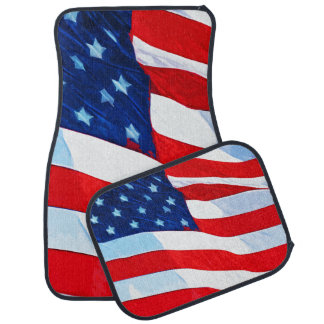 米国旗の抽象芸術の印象主義 カーマット