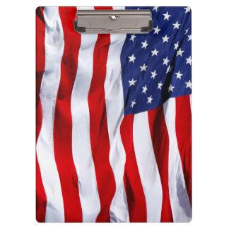 米国旗の星条旗 クリップボード