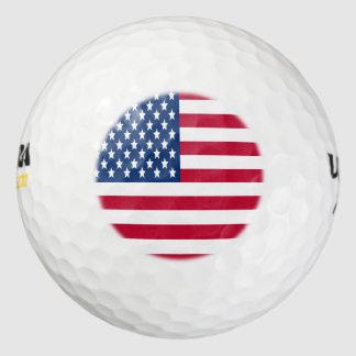 米国旗の星条旗 ゴルフボール