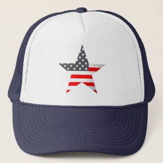 米国旗の星 キャップ