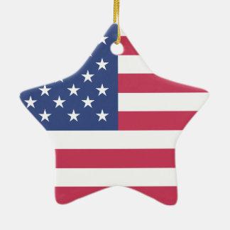 米国旗の星 セラミックオーナメント