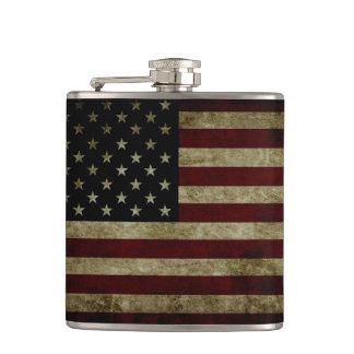 米国旗の暗闇 フラスク