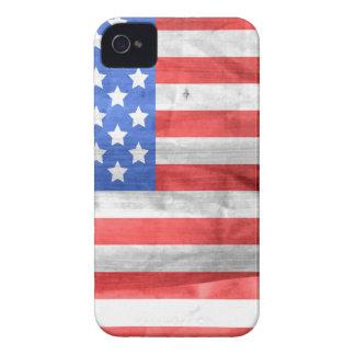 米国旗の独立記念日7月4日 Case-Mate iPhone 4 ケース