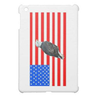 米国旗の白頭鷲 iPad MINIカバー